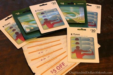 How Much Do Itunes Gift Cards Cost - 52 ways to save 100 a month take advantage of your perks week 6 of 52 one