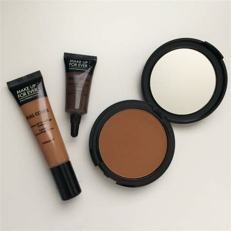 Makeup Forever Pro Finish make up for pro finish powder foundation demo and review base guide