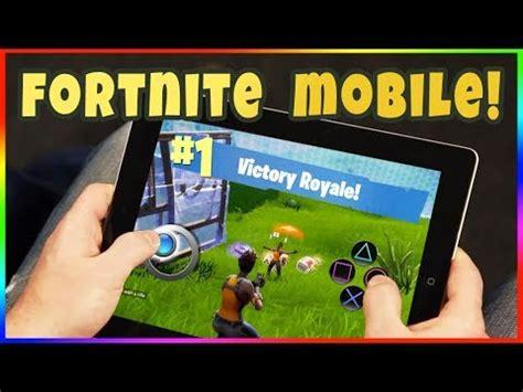 fortnite android beta fortnite on mobile tablet how to get fortnite mobile