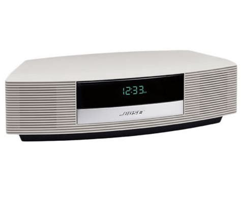Bose Wave Radio Iii With Touch Top Control Page 1 Qvc Com