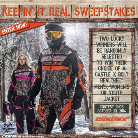 Real Sweepstakes Winners - quot keepin it real quot sweepstakes winners announcement castle x