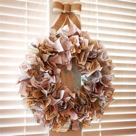 vintage diy crafts vintage printables wreath diy hometalk