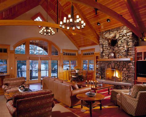 Custom Home   Southern Maine Adirondack Style Lake House