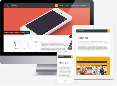 tutorial web design xp one page responsive portfolio template for designers