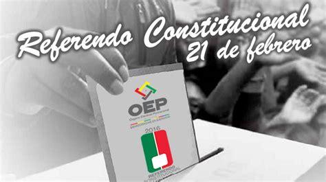 referendum en bolivia 2016 referendo constitucional 2016 en bolivia resultados e