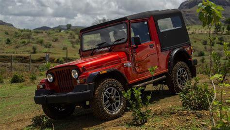 mahindra jeep thar modified mahindra and ford today agreed to explore a strategic