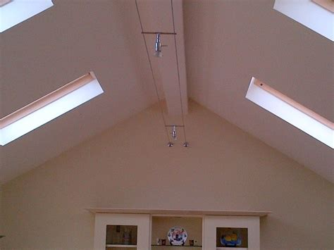 vaulted ceilings with conservation roof lights emc