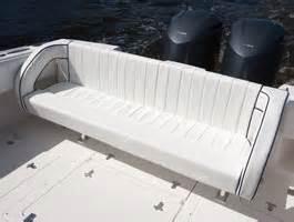 custom boat bench seat 327 cuddy intrepid boats