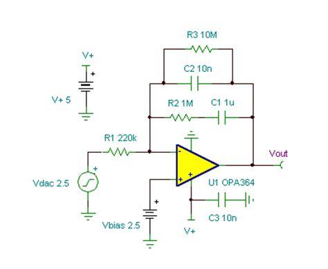 integrator circuit animation pi temperature integrator