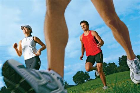 abnehmen durch laufen  macht laufen schlank fit  fun