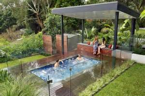 Outdoor Kitchens Sydney - plunge pool design ideas get inspired by photos of plunge pools from australian designers
