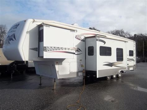 used 2006 keystone rv raptor 3612ds toy hauler fifth html keystone raptor 3612ds rvs for sale