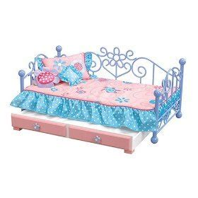 our generation doll bed amazon com our generation doll bed with drawer and accessories toys games