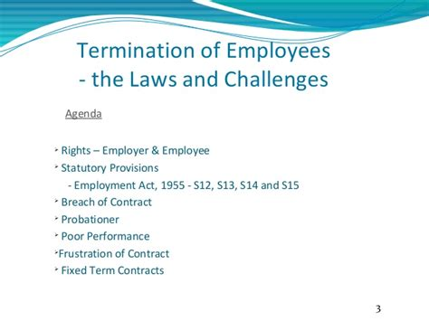 Termination Letter Format Malaysia Employee Termination Laws In Malaysia