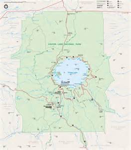 map of crater lake oregon crater lake national park pictures posters news and