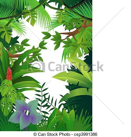 clip art vector of jungle background csp3991386 search