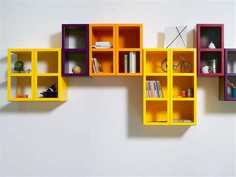 ebook libreria libreria componibile laccata sospesa book libreria