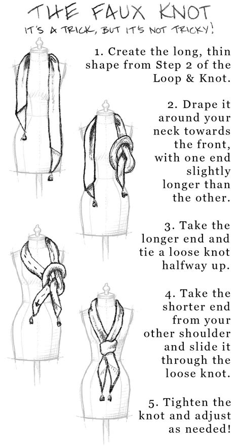 5 ways to tie a square scarf madly chic