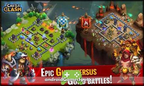 download game castle clash mod apk offline castle clash v1 3 21 apk mod hack obb data unlimited