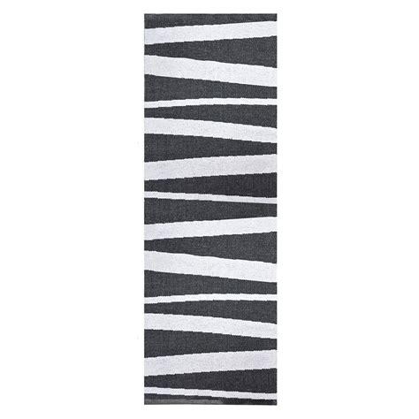 Exceptionnel Tapis De Cuisine Long #2: tapis-couloir-nir-blanc-70x200-01.jpg