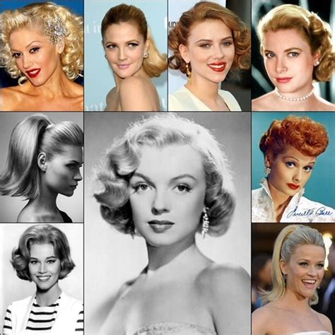50s swing hairstyles years to years hairstyle trends that are still high