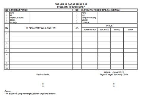 contoh layout fungsional contoh skp guru dan kepala sekolah pemerintah net