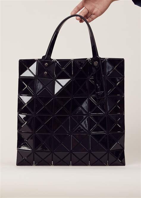 Bao Bao B621 5 lyst bao bao issey miyake lucent tote bag in black