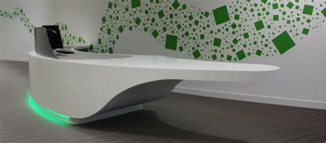 corian office table we are limitless limited 187 solid surface reception desk