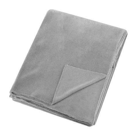 light grey throw blanket buy zoeppritz since 1828 soft fleece blanket light grey