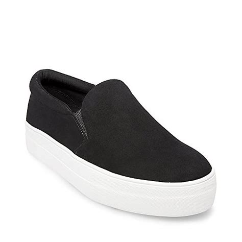 Steve Madden 7 5w by Steve Madden S Gills Fashion Sneaker Black Suede 7 5 M Import It All
