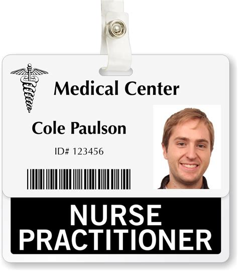 Hospital Id Badge Images Hospital Id Badge Template