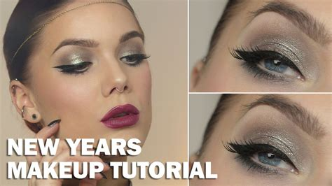 eyeliner tutorial linda hallberg new years makeup with subs linda hallberg makeup