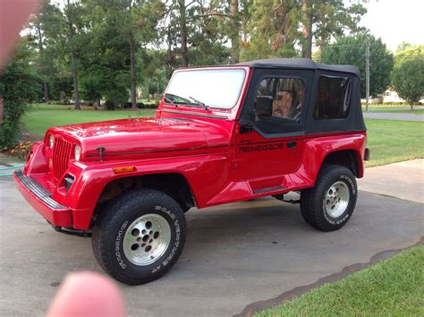 1995 Jeep Renegade 1992 Jeep Wrangler Pictures Cargurus