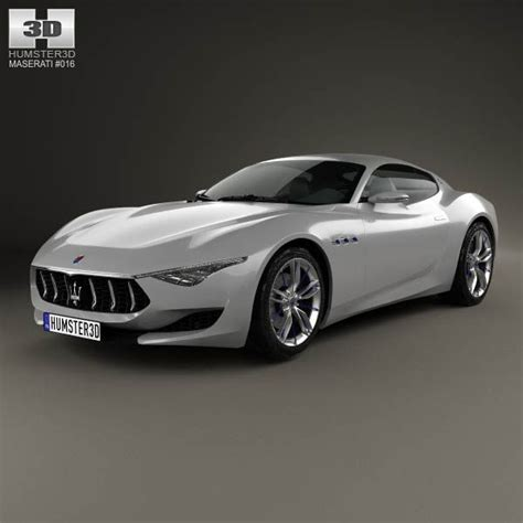 Maserati Models And Prices by Maserati Alfieri 2014 3d Model Models 3d And Maserati