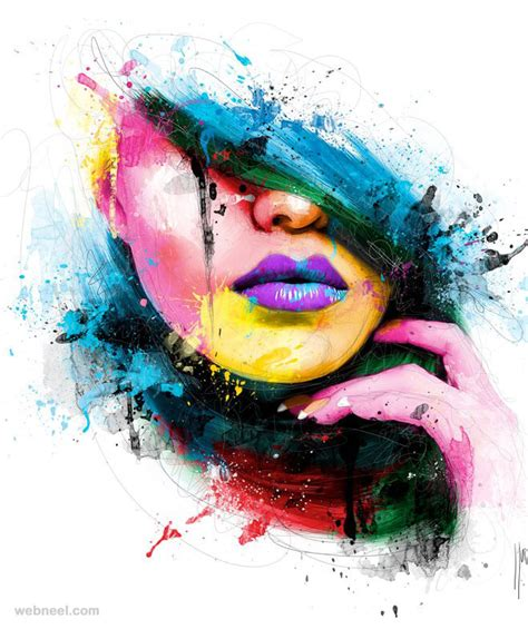 colorful painting colorful paintings by patrice murciano 14
