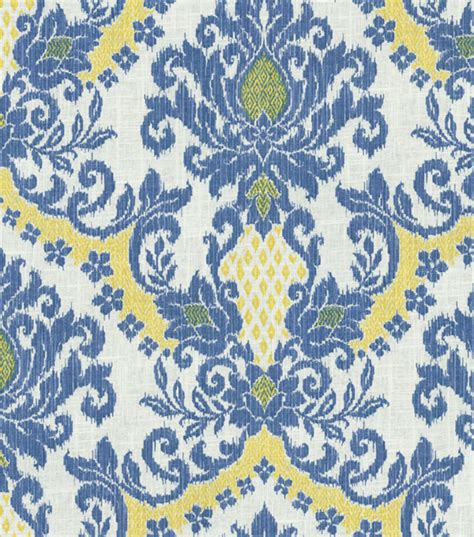 home decor fabric waverly bedazzle blue sky jo
