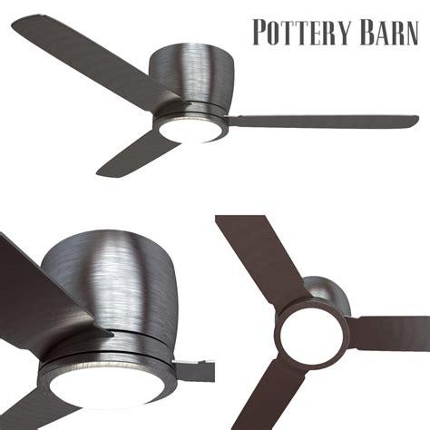 pottery barn ceiling fan pottery barn ceiling fan 3d turbosquid 1234685