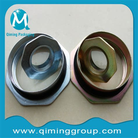 2 inch and 3/4 inch drum flanges qiming packaging lids