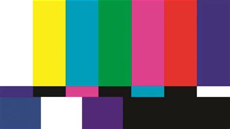 test pattern que significa 191 qui 233 n invent 243 la televisi 243 n a color