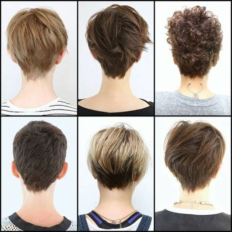 hairstyles for 60 front and back view 25 best ideas about pixie cut back on pinterest pixie