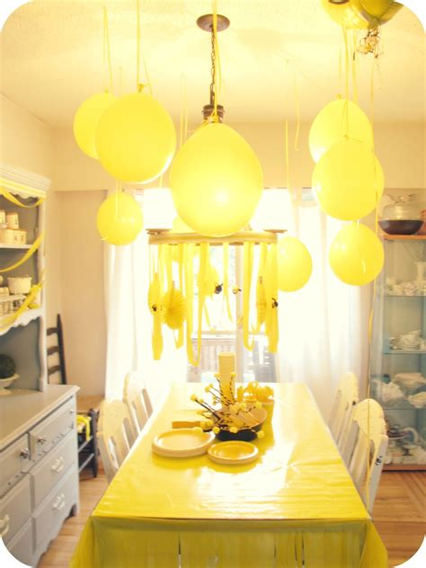yellow decor my house of giggles a yellow bumble bee birthday party
