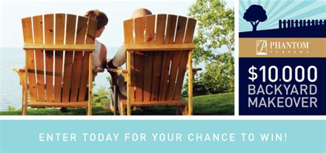 Backyard Makeover Sweepstakes - experience the perfect summer retracting solutionsretracting solutions