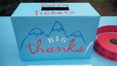 raffle ticket box cricut diy raffle box ticket