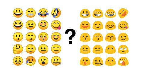 android new emojis poll do you like or new android emojis better awaqa