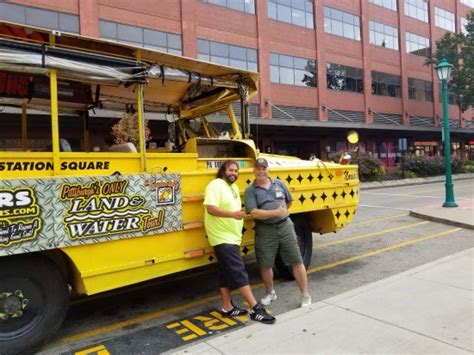 duck boat pittsburgh my duck boat picture of just ducky tours inc