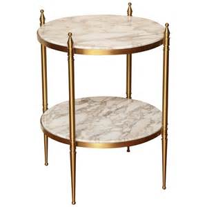 small side table two tiered small round side table at 1stdibs