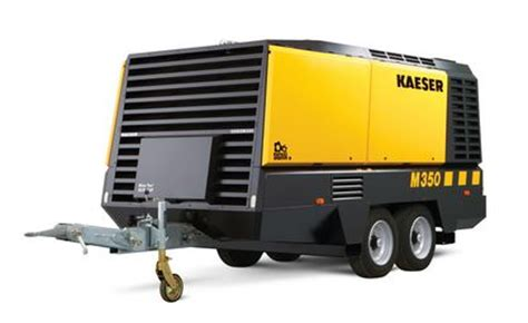 kaeser portable air compressor  cfm  psi