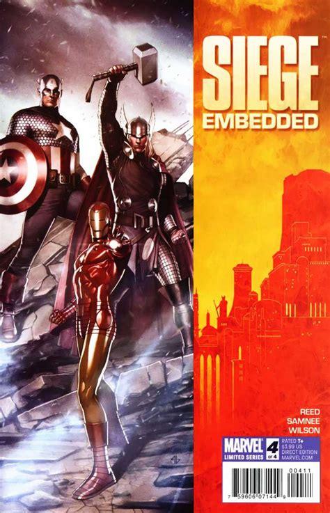 siege embedded 4 siege embedded part four issue