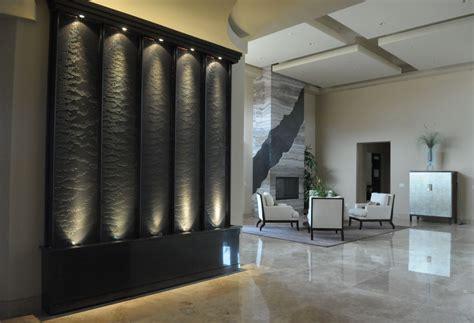 Modern Wall Water Features by Modern Indoor Water Udenssiena Viesistaba Jpg
