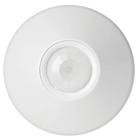 ceiling mount sensor light lithonia lighting extended range 360 degree motion